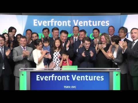 Everfront Ventures Corp. Opens TSX Venture Exchange, July 11th, 2017
