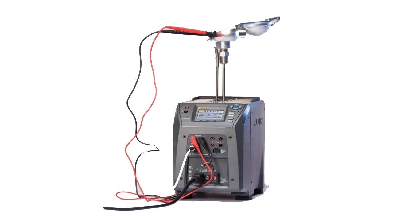 Testing thermal sensor transmitter with fluke youtube
