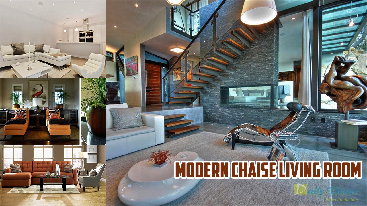 Modern chaise living room -  Daily Decor Modern Chaise Living Room