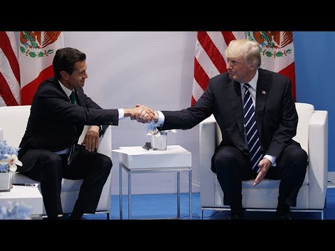Trump says Mexico will 'absolutely' pay for border wall during G20 meeting with Nieto