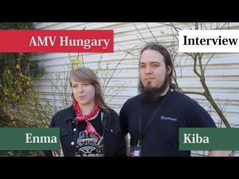 AMV Hungary interjú: Enma & Kiba