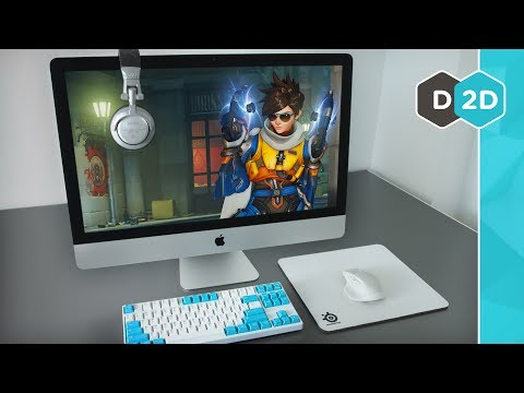 "Gaming On The Fully Loaded $5300 27"" iMac!"