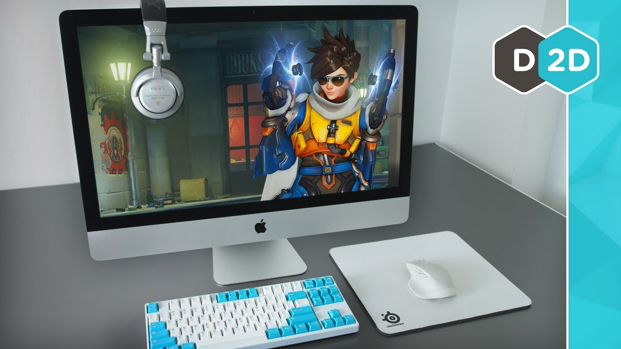 gaming on imac with bootcamp