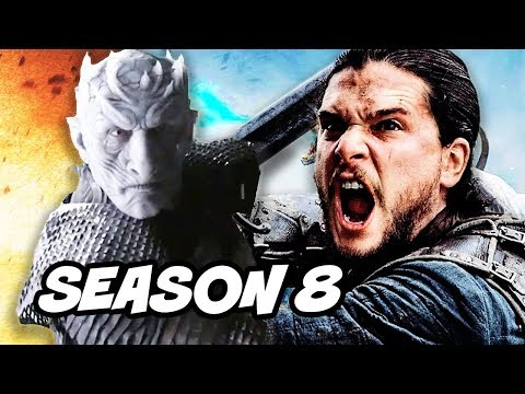 Game Of Thrones Season 8 White Walker Battle Explained and Teaser Theory