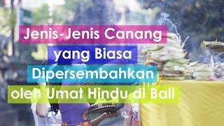 Download Video Jenis-Jenis Canang yang Biasa Dipersembahkan oleh Umat Hindu di Bali #BaliUnik MP3 3GP MP4