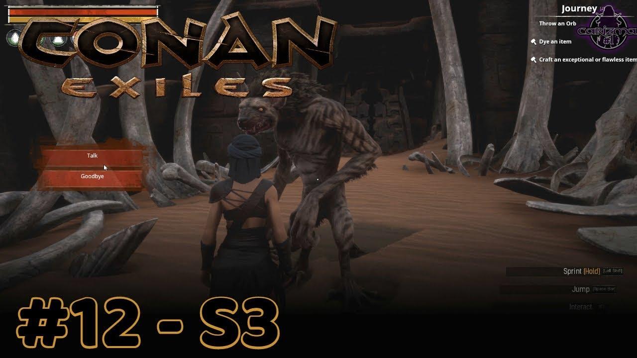 Conan Exiles - Son of Jhebbal Sag location Change & Mitra Trainer loc - #12  - S3 by CariZma#1