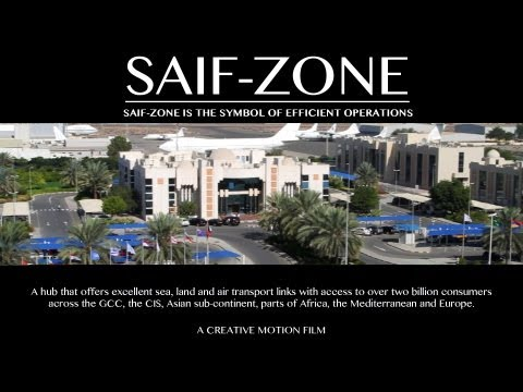 "Corporate video for ""Sharjah Saif Zone"", by Creative Motion"