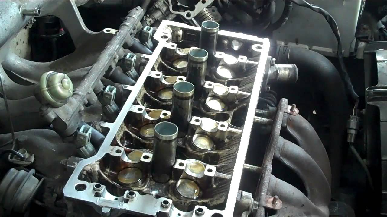 toyota engine repair part 3 head gasket youtube rh youtube com