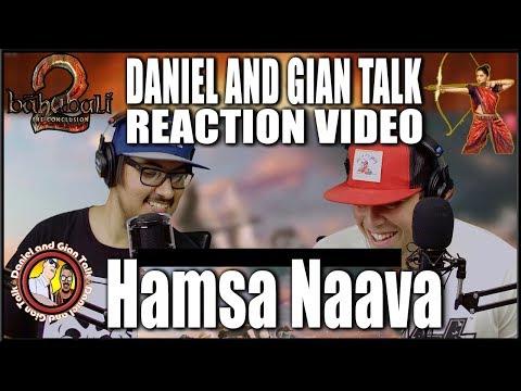 Hamsa Naava Song Reaction Video | Baahubali 2 | Prabhas | Anushka
