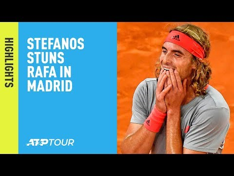 Highlights: Tsitsipas Stuns Nadal, To Face Djokovic In Madrid Final