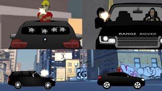 Alkaline & Popcaan Microwave Gun Battle. [Jamaican Cartoon]