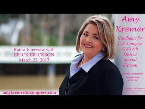 Erick Erickson interviews Amy Kremer, Candidate for Congress, GA