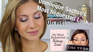 Dominique Sachse's Most Requested Makeup Look (Slightly Altered) ...on ME! Sephora Pro Palette
