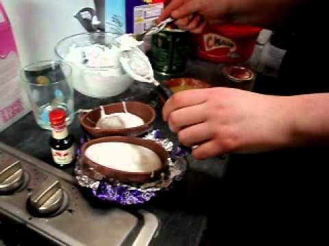 how to make a giant creme egg