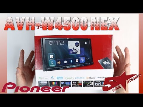 Pioneer AVH W4500NEX unboxing and overview