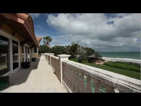 Luxury Melbourne Beach Oceanfront Home in the Golden Triangle