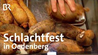 Kesselfleisch: Schlachtfest in Oedenberg | Zwischen Spessart und Karwendel | BR