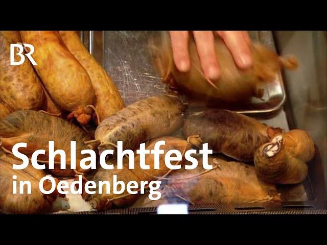 Kesselfleisch: Schlachtfest in Oedenberg | Zwischen Spessart und Karwendel | BR | Doku | Reportage