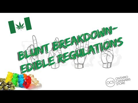 New Suggested Edibles Regulations In Canada (brief Details)