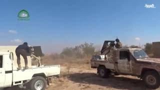 الجيش الحر يبدأ بهجوم كبير بدعم من القوات التركية لإبعاد داعش عن دابق
