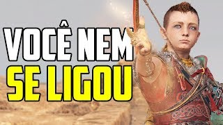 EXPLICANDO O FINAL DO NOVO GOD OF WAR!