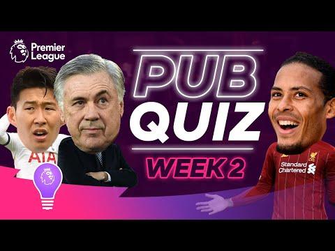 How Much Do You Know About The Premier League? | #PLPubQuiz Episode 2
