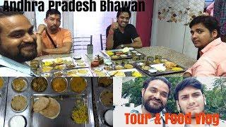 Andhra Pradesh Bhawan Tour, Food Vlog-Delhi Vlogs