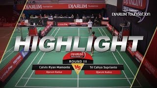 Calvin Ryan Mamonto (Djarum Kudus) VS Tri Cahya Suprianto (Djarum Kudus)