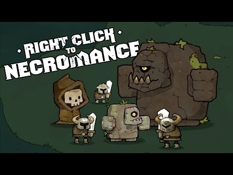 The Giant Undead Army! - Right Click to Necromance Gameplay