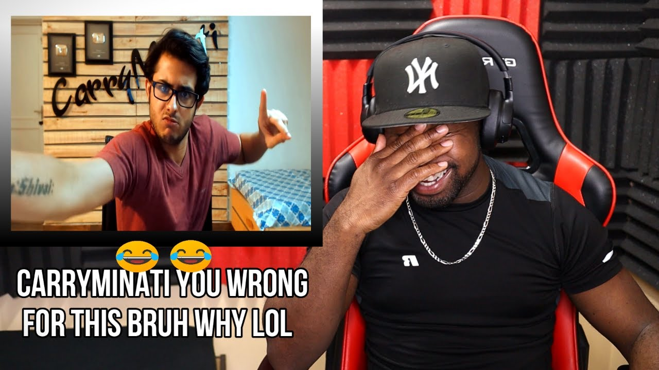 CARRYMINATI IS A SAVAGE LOL!!! CARRYMINATI RETURN OF RAPPERS (FIRST WATCH) [REACTION] 😂