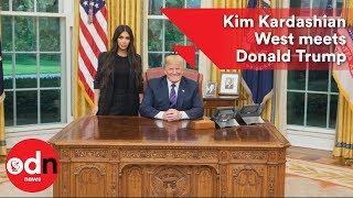Kim Kardashian meets Donald Trump to discuss prison reform