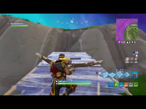 New WUKONG outfit (Fortnite Battle Royale) Stream DOUBLE PUMP SHOTGUN PS4 SOLO