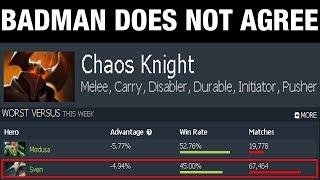 BADMAN DOES NOT AGREE - Chaos Knight - Dota 2