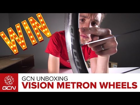 GCN Unboxing: Vision Metron 40 Carbon Wheels – Disc Brake AND Rim Brake! | Win With GCN