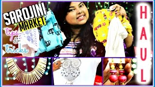13 Tips & Tricks To Shop at SAROJINI NAGAR MARKET + HAUL | Indian Youtuber