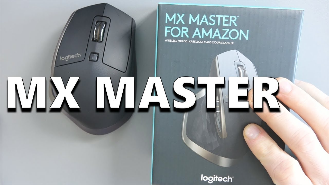 3312492b78f Logitech MX Master Wireless Bluetooth Mouse - YouTube