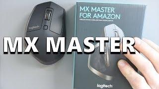 Logitech MX Master Wireless Bluetooth Mouse