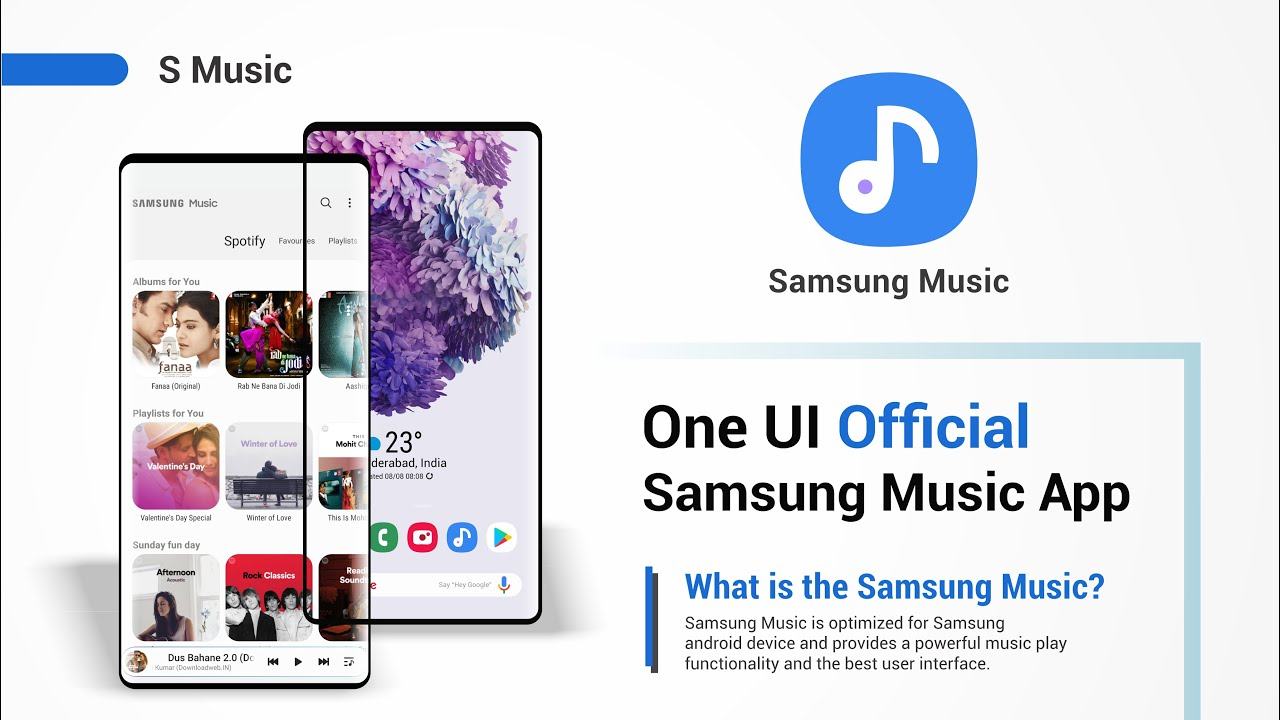 samsung One UI music app 2019 | all new