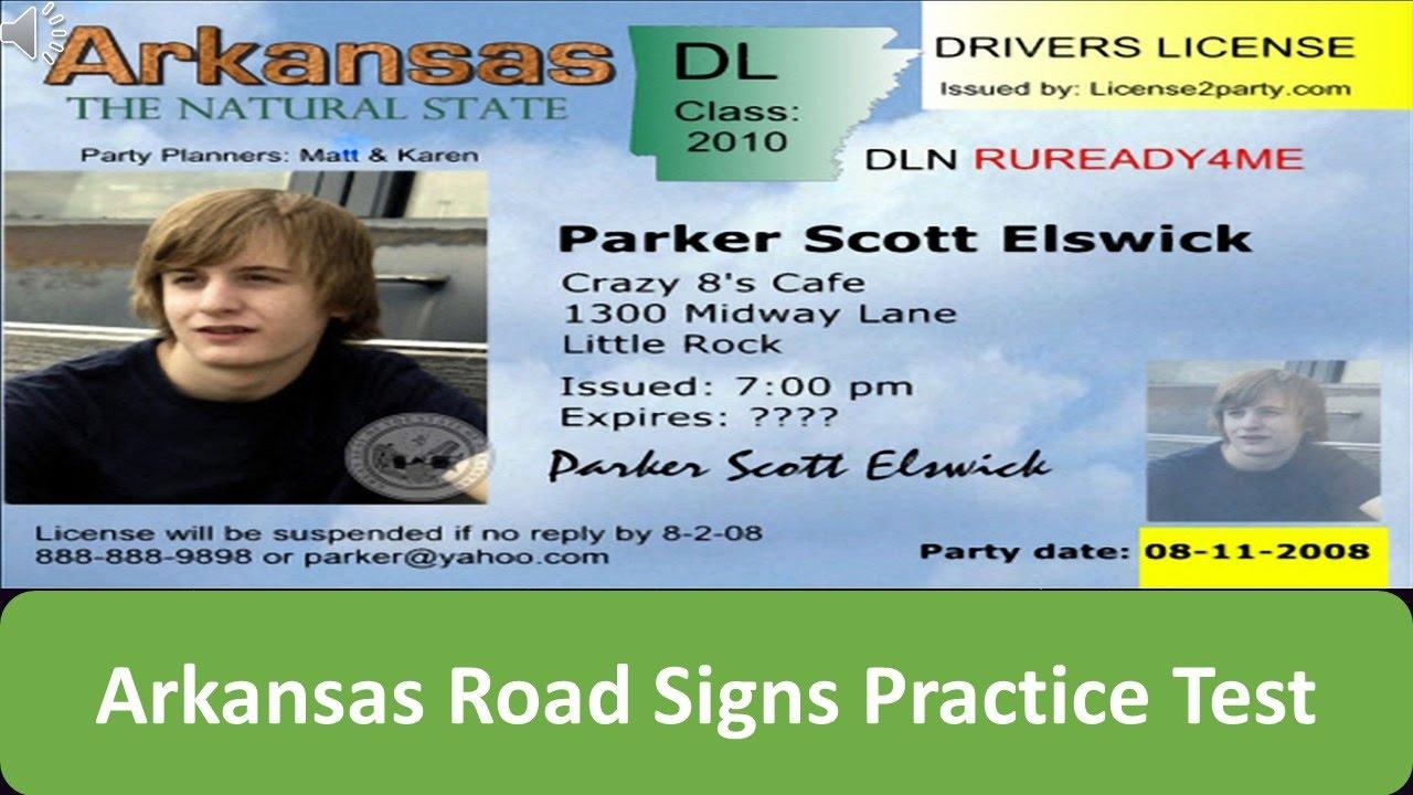 drivers license test little rock arkansas