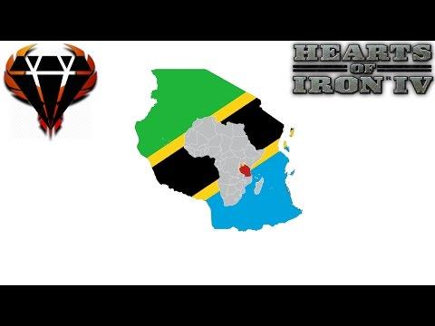 Hearts of Iron 4 - Modern Day Mod 2017 - Monarchy Tanzania - Tanzanian Killers! #1