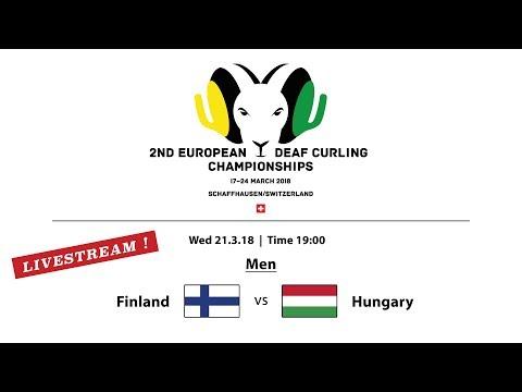 EC Deaf Curling 2018  |  Men FIN vs. HUN