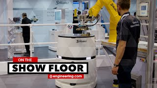 Connected Robots form Smart Production Cell
