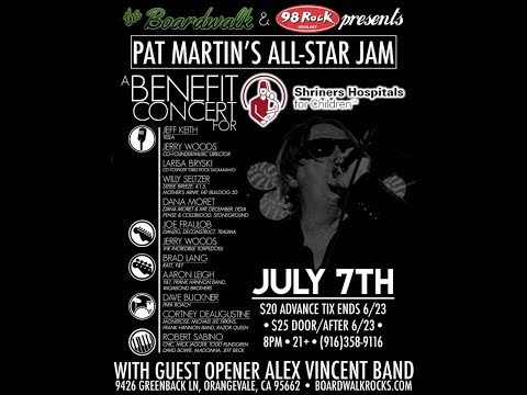 Pat  Martins all star cover band  2017  Live at the boardwalk
