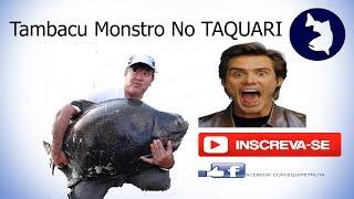 Tambamonstro +40KG Do Luiz Equipe Truta, no centro de pesca TAQUARI