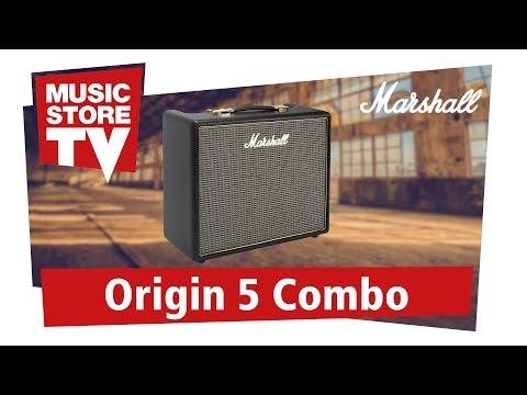 Marshall Origin 5C Combo Guitar Amp Demo (english)
