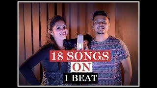 1BEAT 18SONGS   Bollywood Mashup   ft. Souparna & Dishani