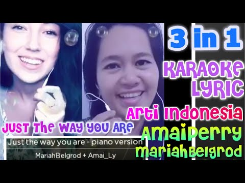 KARAOKE ORI 🎤🎤 THE WAY YOUR ARE BY BRUNO MARS/ DUET AMAIPERRY & MARIAH BELGROD