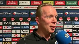 Reactie Wil Boessen na SC Cambuur - FC Den Bosch