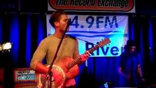 Kaleo - Way Down We Go (KRVB Radio live at The Record Exchange)
