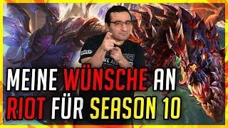 Meine Wünsche an Riot für Season 10 [League of Legends]
